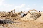 TP.HCM: Giá cát xây dựng tăng đột biến