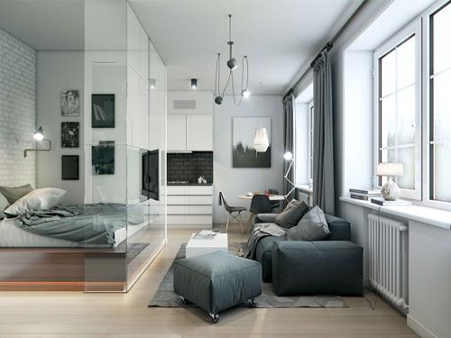 Mẹo thiết kế nội thất cho nhà nhỏ hẹp