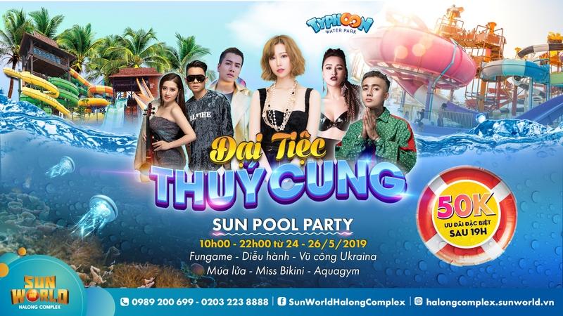 Đạt G, Min, DJ Tít bùng nổ với Đại tiệc Thủy cung tại Sun World Halong Complex