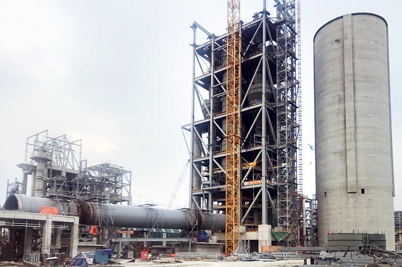 Nhà máy xi măng TânThắng: Hoàn thành lắp đặt lò nung trước tiến độ