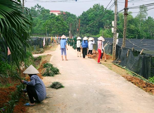 Phú Thọ: Thị xã Phú Thọ cán đích xây dựng nông thôn mới