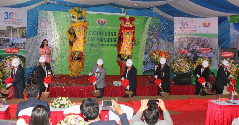 Lâm Đồng: Khởi công dự án Đà Lạt Paradise Garden quy mô 37,5ha
