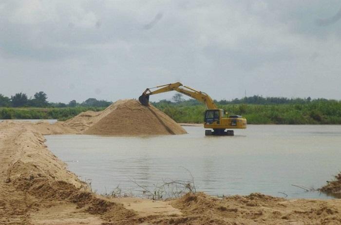 Góp ý việc điều chỉnh quy hoạch thăm dò, khai thác cát lòng sông, ven biển tại Thái Bình