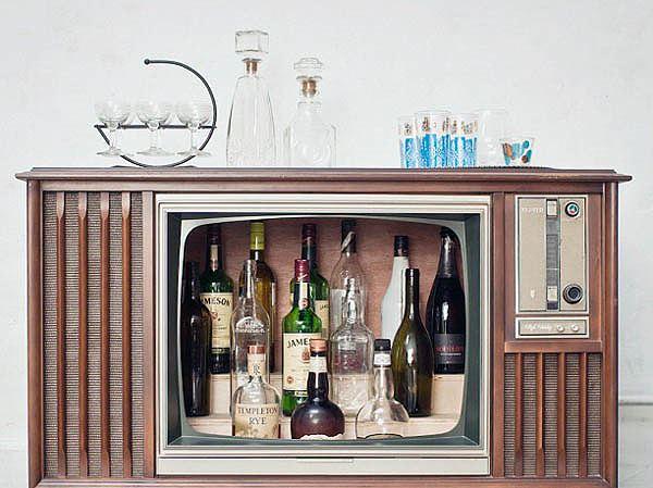 Sáng tạo quầy bar trong nhà cho ngày hè nóng bức