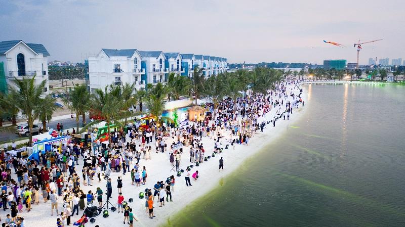 """Cư dân Vinhomes Ocean Park tận hưởng """"Vitamin sea"""" ngay tại nhà"""