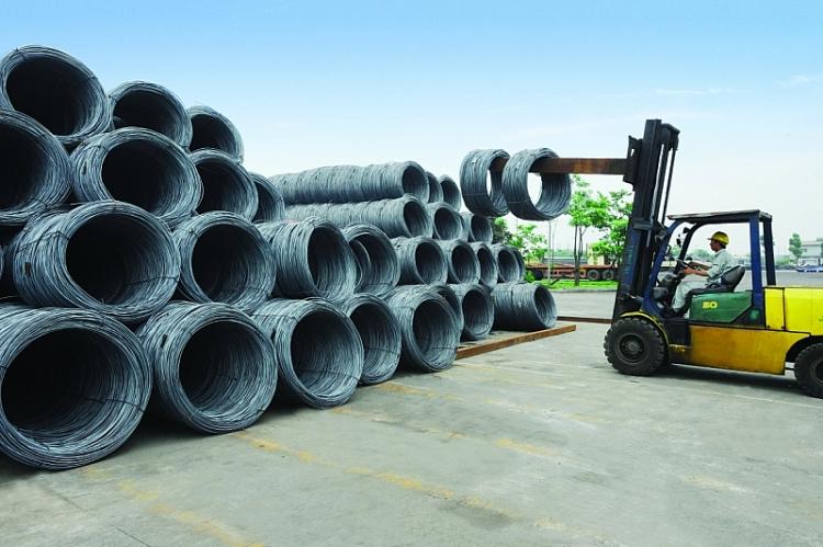 Áp dụng biện pháp phòng vệ thương mại với thép cuộn, thép dây nhập khẩu