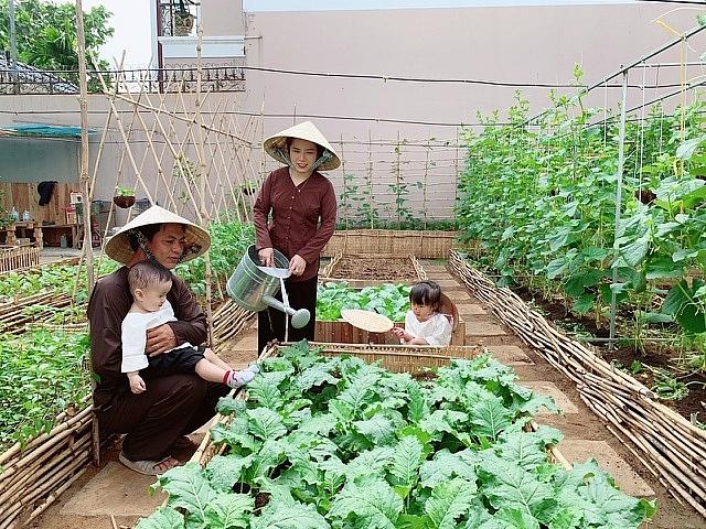 2203 image011 - Bỏ 50 triệu đồng cải tạo vườn chuối thành khu sinh thái trong mơ