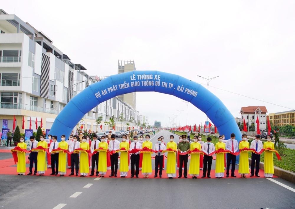 Chính thức thông xe Dự án phát triển giao thông đô thị thành phố Hải Phòng