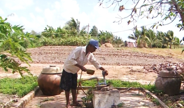 Đồng bằng sông Cửu Long: Hạn hán, ngập mặn, thiếu nước ngọt trầm trọng