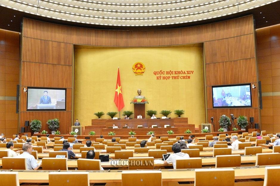 Chiều nay, Quốc hội thảo luận trực tuyến về một số nội dung còn ý kiến khác nhau của dự án Luật Xây dựng (sửa đổi)