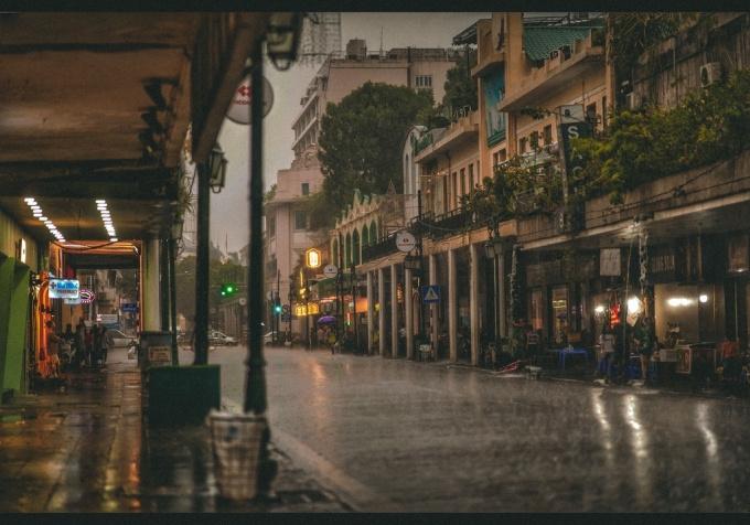Một lời với mưa