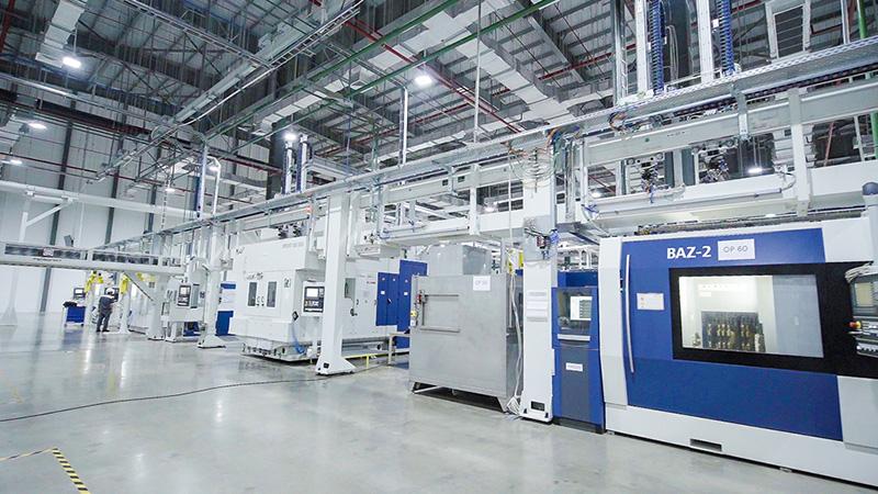 Đột nhập xưởng sản xuất động cơ ô tô đầu tiên tại Việt Nam