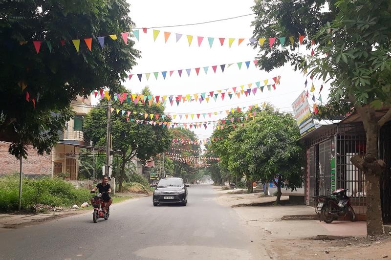 Xã An Hòa, Tam Dương (Vĩnh Phúc): Phát triển kinh tế gắn liền với xây dựng nông thôn mới