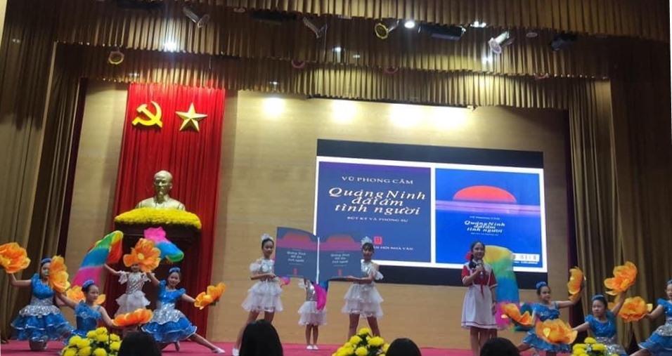 Nhà báo Vũ Phong Cầm, tác phẩm đi vào cuộc thi văn hóa đọc học đường