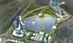 Khởi công dự án công viên hồ điều hòa Cầu Giấy