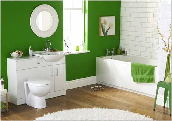 5 màu sơn giúp nhà tắm cuốn hút hơn