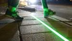 Chile lắp đặt đèn giao thông trên mặt đường cho người