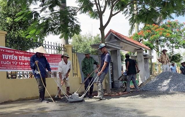 Xây dựng nông thôn mới ở Hải Phòng: Thành công nhờ lấy dân làm gốc