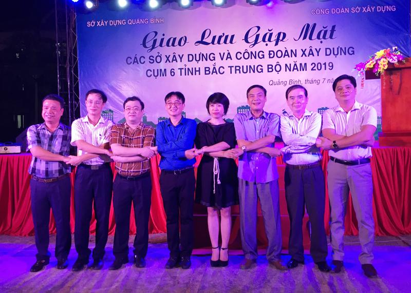 Quảng Bình: Giao ban, gặp mặt Công đoàn ngành Xây dựng 6 tỉnh Bắc Trung bộ