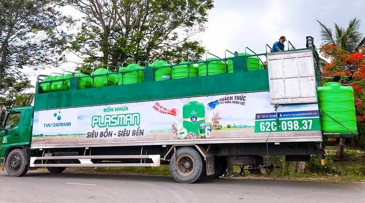 Tập đoàn Tân Á Đại Thành mang siêu bồn nhựa Plasman đến Vietbuild Cần Thơ 2019