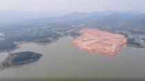 Vĩnh Phúc: Hàng loạt doanh nghiệp vi phạm san lấp, đổ đất xuống hồ Đại Lải
