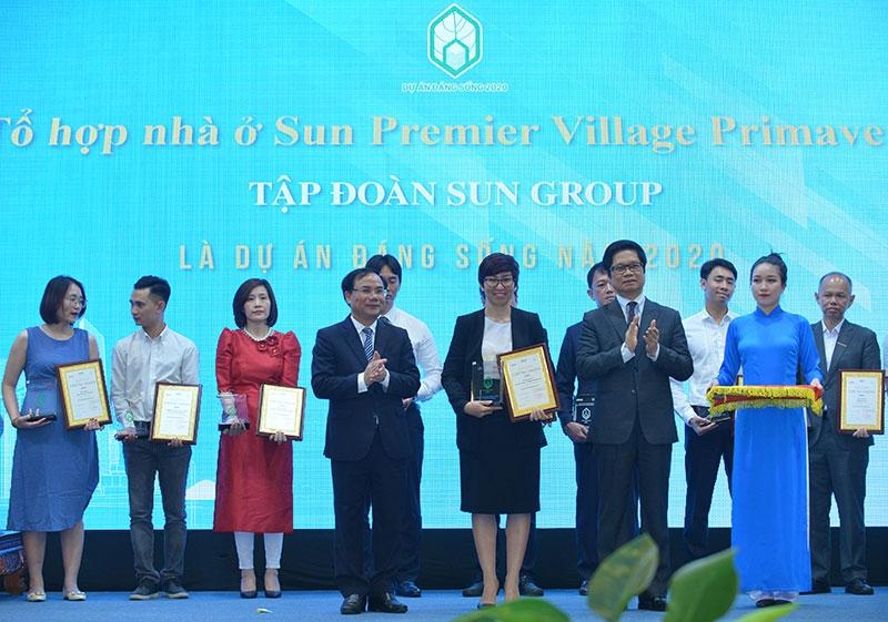 nhieu cong trinh cua sun group duoc binh chon du an dang song 2020