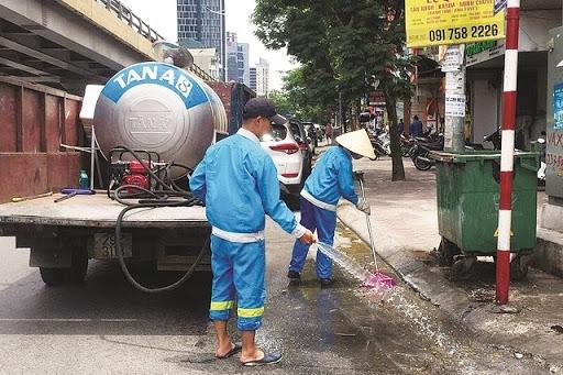 Áp lực lên môi trường đô thị