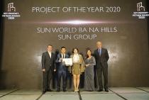 """Sun World Ba Na Hills xuất sắc đạt giải """"Dự án của năm do nhà đầu tư bình chọn"""""""