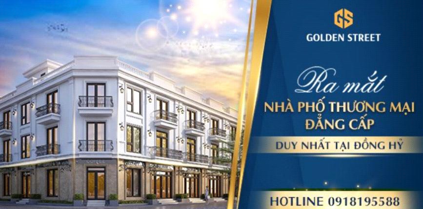 Đồng Hỷ (Thái Nguyên): Ra mắt dự án shophouse Golden Street