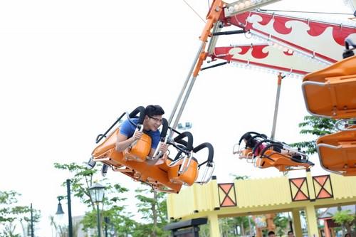 103449baoxaydung 8 Rực rỡ đèn lồng Hội An kỷ lục tại Asia Park Đà Nẵng