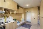 Căn hộ 30 m2 khiến khách bất ngờ vì quá nhiều chỗ để đồ