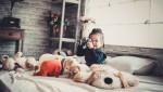 Những lưu ý phong thuỷ khi kê giường ngủ cho trẻ nhỏ
