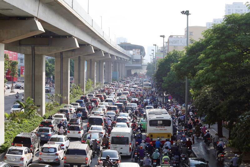 Kiểm soát ô nhiễm khí thải đô thị: Chưa hiệu quả