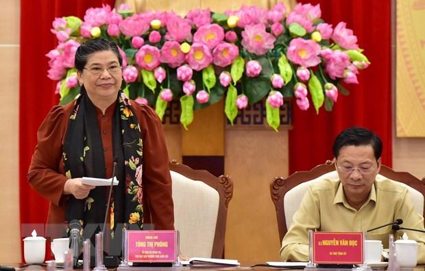 Phó Chủ tịch Thường trực Quốc hội làm việc với tỉnh Quảng Ninh