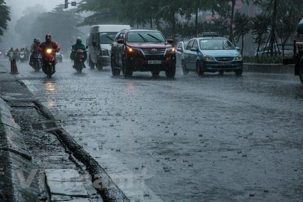 Chiều tối và đêm 18/8, các khu vực trong cả nước đều có mưa dông