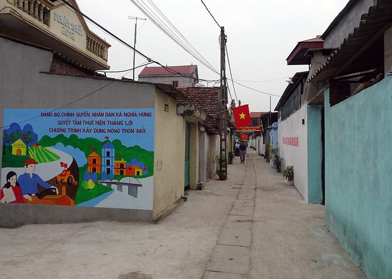 Vĩnh Tường (Vĩnh Phúc): Tích cực xây dựng, cải tạo hệ thống thu gom nước thải khu dân cư
