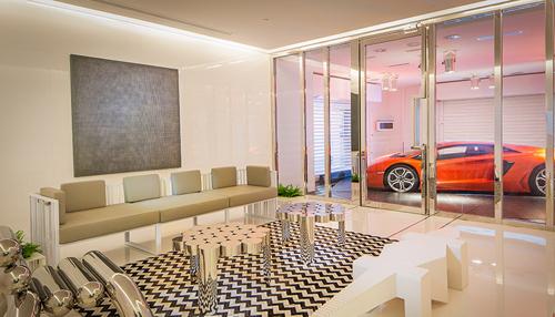nha 3 5722 1473407561 Thiết kế căn hộ có siêu xe lên nhà bằng thang máy