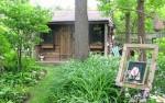 Hô biến cửa gỗ tự nhiên cũ kỹ thành đồ trang sức cho ngôi nhà