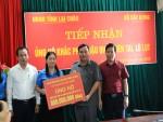 Bộ Xây dựng sẻ chia cùng đồng bào vùng lũ tỉnh Lai Châu