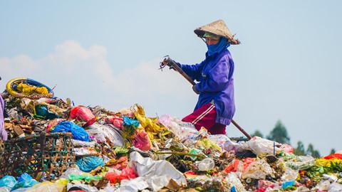 Đà Nẵng đầu tư 12 tỷ đồng che bạt hạn chế mùi hôi ở bãi rác Khánh Sơn