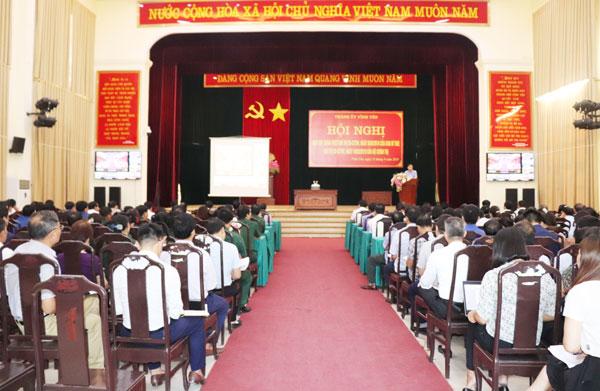 Vĩnh Phúc: Thành ủy Vĩnh Yên học tập, quán triệt Chỉ thị 25 của Ban Bí thư và Chỉ thị 32 của Bộ Chính trị