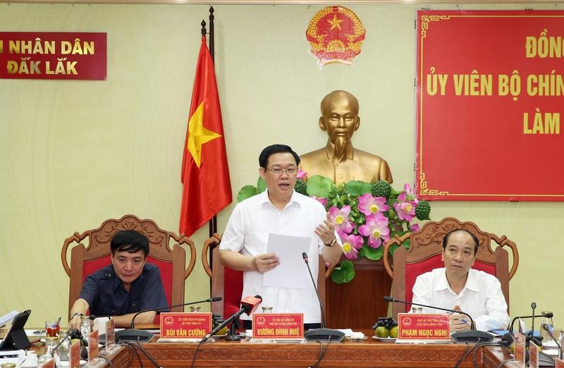 Phó Thủ tướng: Đắk Lắk là địa bàn 'chiến lược của chiến lược'