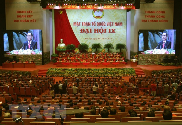 Khai mạc Đại hội đại biểu toàn quốc Mặt trận Tổ quốc Việt Nam