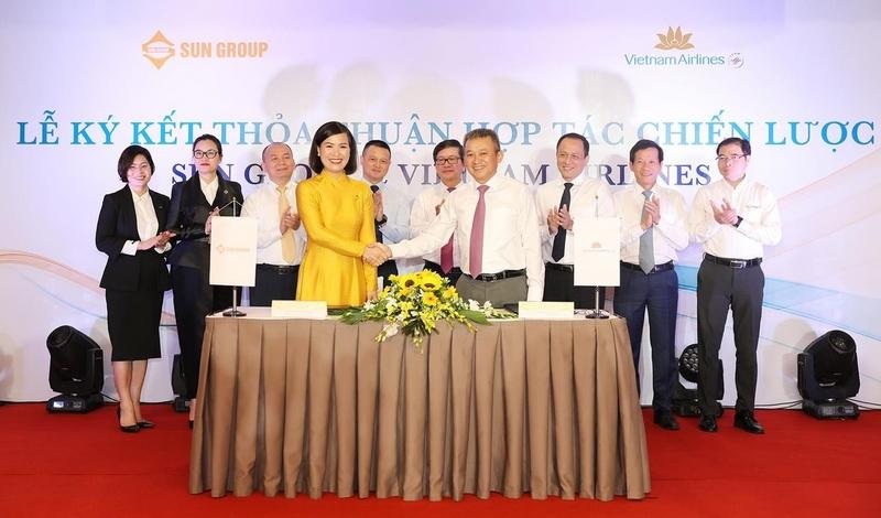 Sun Group - Vietnam Airlines hợp tác phát triển sản phẩm mới