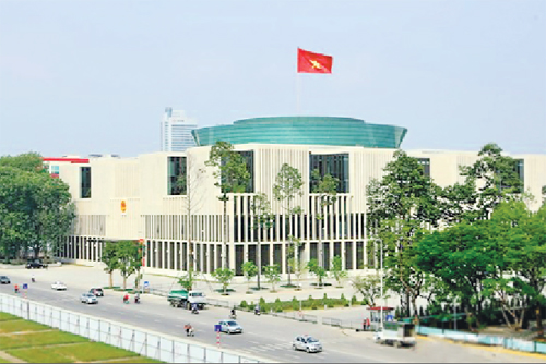 Nhà Quốc hội: Hội tụ tinh hoa thợ xây dựng Việt Nam