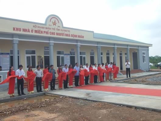 Bệnh viện đa khoa Quảng Trị: Khánh thành khu nhà ở miễn phí cho người nhà bệnh nhân