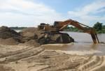 TT - Huế: Thu hồi giấy phép tận thu cát nhiễm mặn đem bán