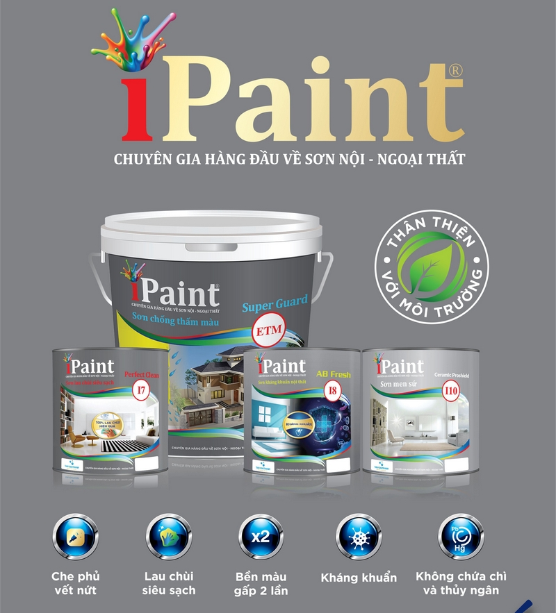 Giải pháp khắc phục hiện tượng sơn tường phai màu, bám bẩn