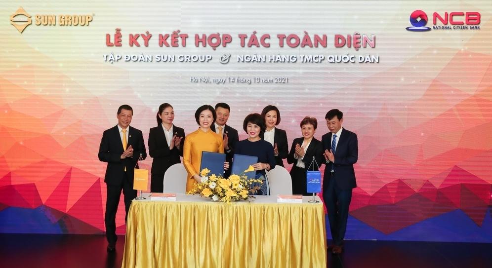 ncb va sun group hop tac toan dien nang cao trai nghiem khach hang