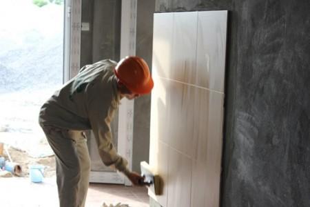 Ngày càng có nhiều công trình sử dụng keo dán gạch Mova